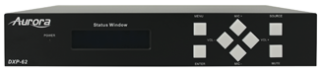 Aurora Ships DXP-62 Presentation Scaler/Switcher with HDBaseT