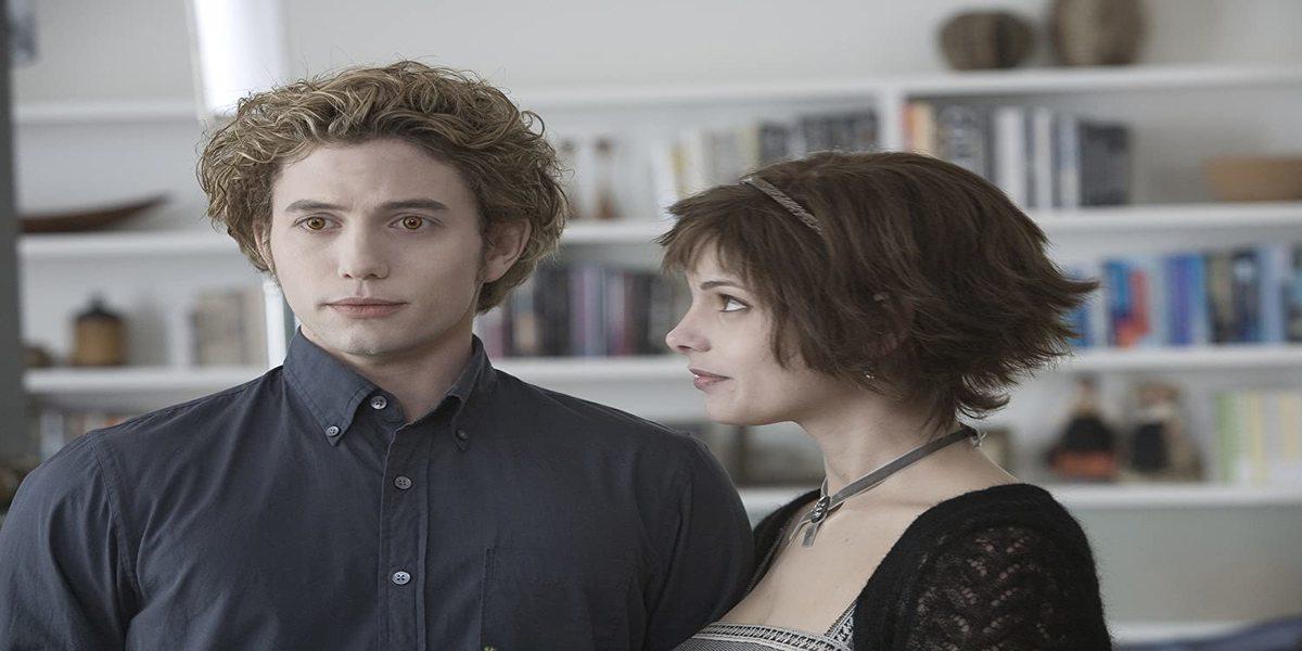 Jackson Rathbone as Jasper with Ashley Greene as Alice