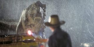 T-Rex in 1993's Jurassic Park