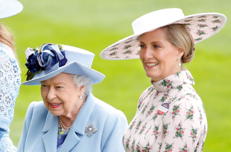 Sophie Wessex and the Queen