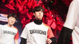 Fearless when he was in the Shanghai Dragons