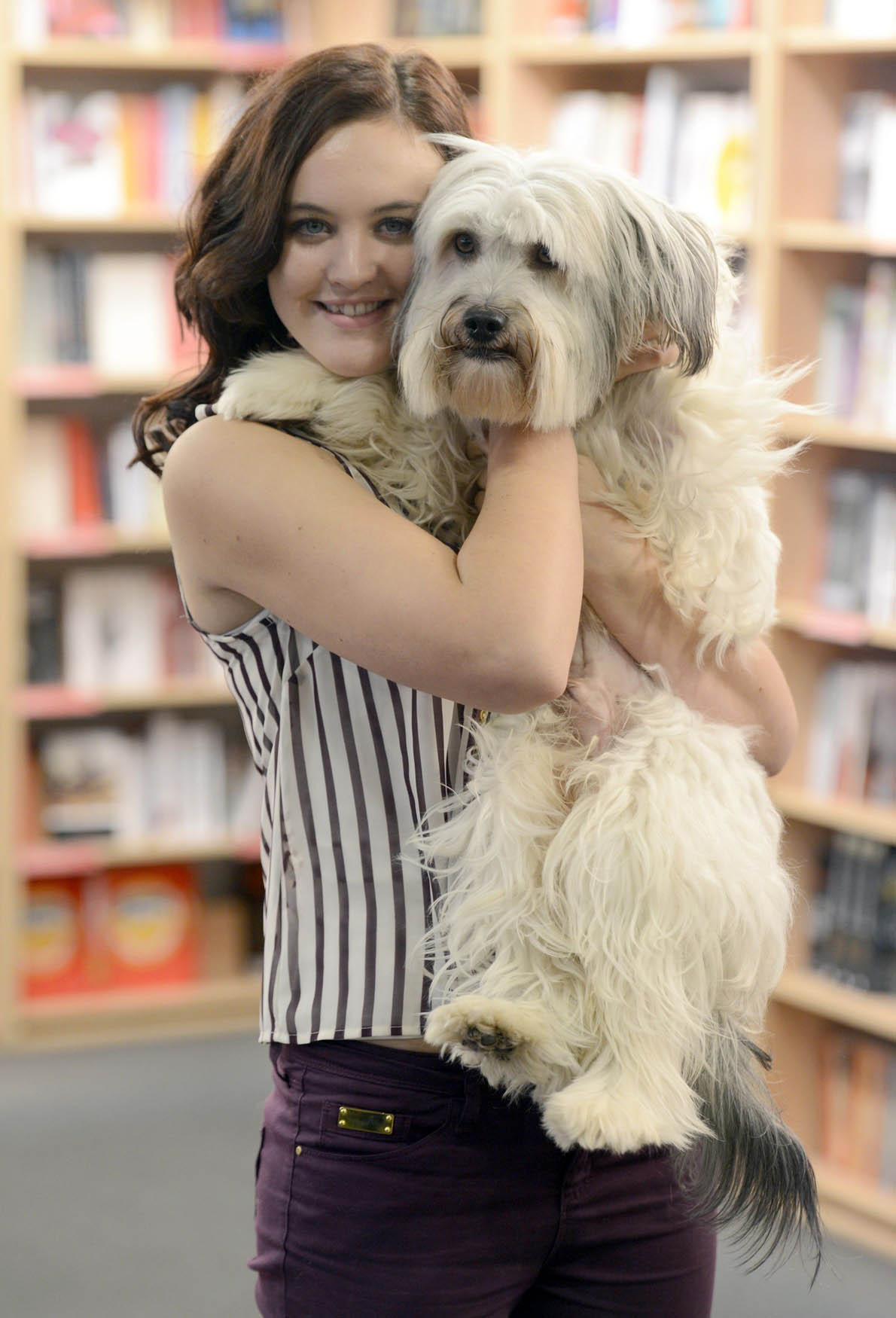 BGT's Ashley and Pudsey celebrate book launch