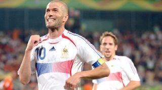 Zinedine Zidane World Cup 2006