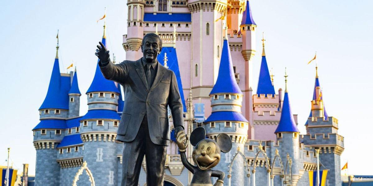 Walt Disney in the Magic Kingdom
