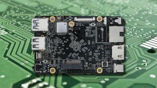 The ROC-RK3566-PC board