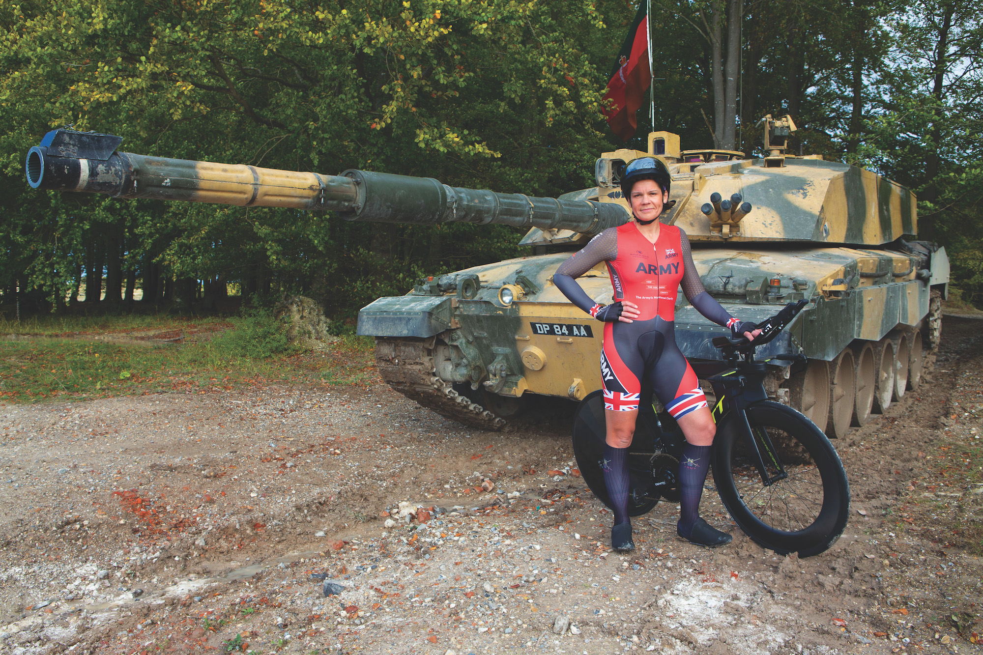 How soldier-cyclists use their military training to become better riders