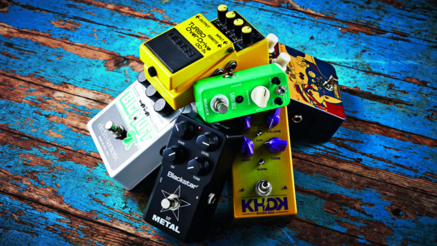 Pedal gain stacking: everything you need to know | MusicRadar