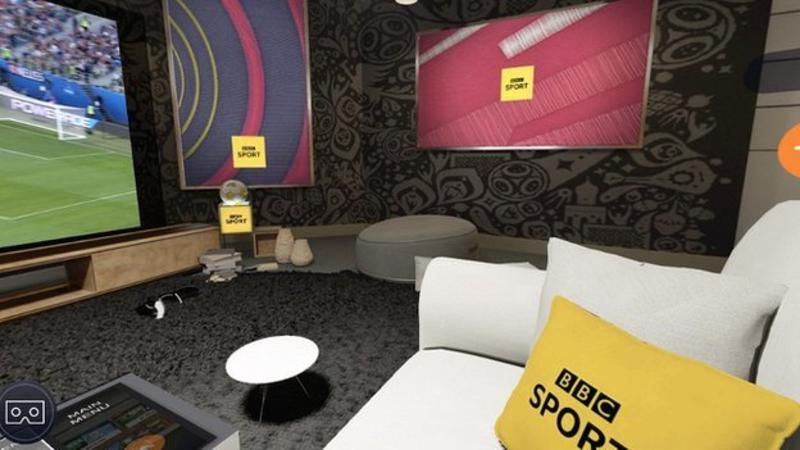You can now download the BBC Sport VR: FIFA World Cup app