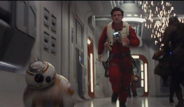 oscar isaac Poe Dameron running the force awakens