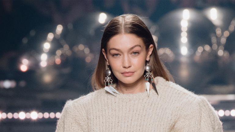 Gigi Hadid's bangs