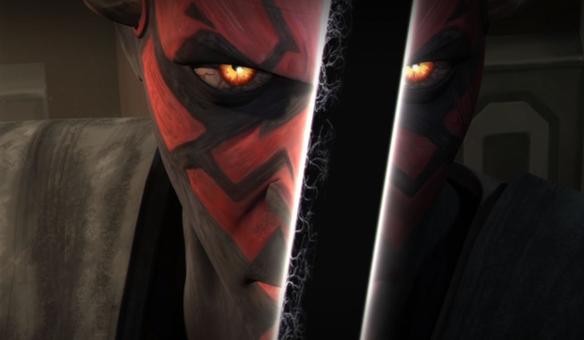 Maul with the Darksaber