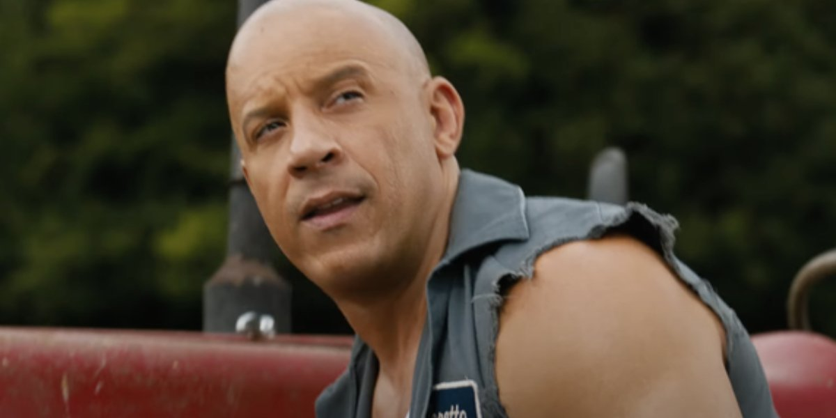 Groot voice actor Vin Diesel in F9: The Fast Saga