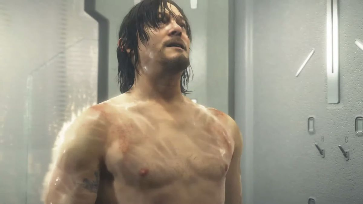Norman Reedus' Death Stranding character is not happy if you keep staring at his crotch