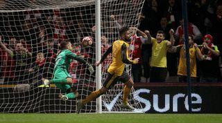 Olivier Giroud goal vs Preston