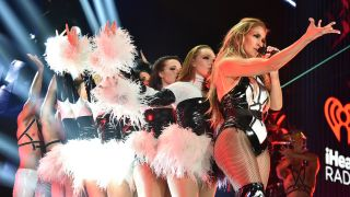 Super Bowl halftime show: Who's performing? Jennifer Lopez performs onstage at the 2019 iHeartRadio Fiesta Latina at AmericanAirlines Arena on November 2, 2019 in Miami, Florida.