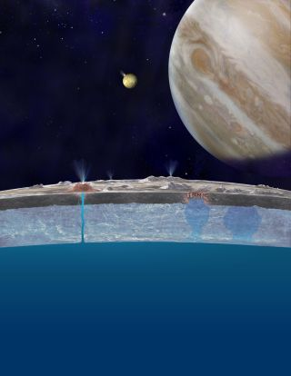 Europa's Ocean Bubbles to Surface