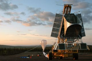'BLAST' Off! Stratospheric Telescope Studies Stars