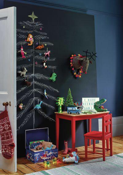 Scandi Christmas Tree Drawing.17 Best Christmas Tree Alternatives Real Homes