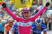 A huge win for Cavendish in Scheldeprijs in 2007