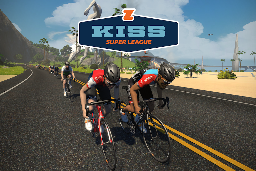 Zwift launches first e-racing league for pro riders