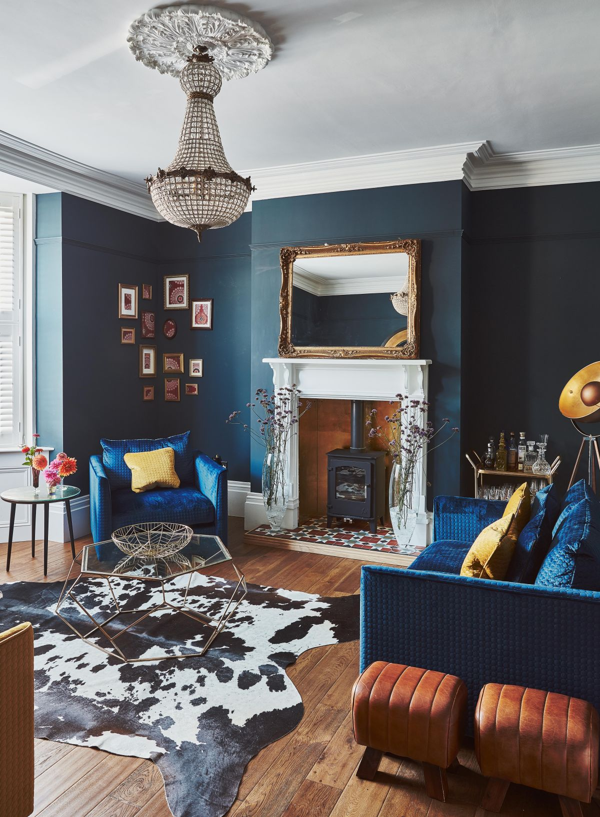 25 Living Room Paint Color Ideas To, Blue Living Rooms
