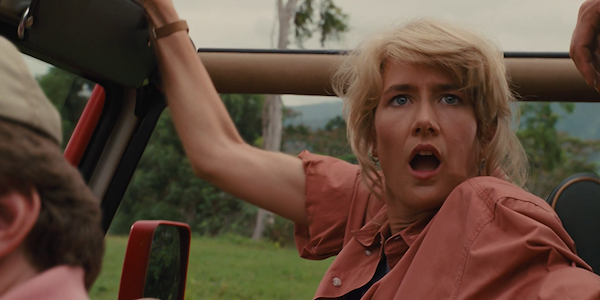 Laura Dern as Dr. Ellie Sattler in Jurassic Park