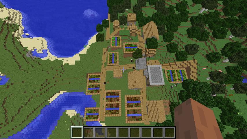 best minecraft seeds pc gamer my biggest house ever