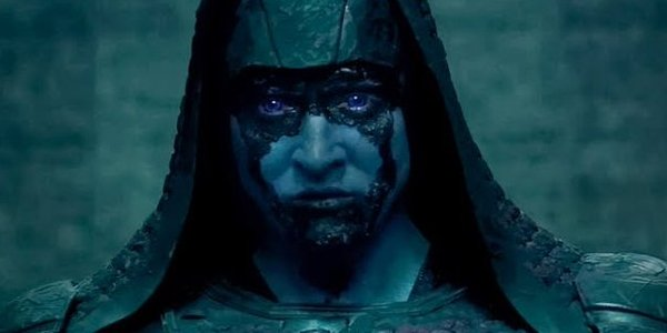 Ronan the Accuser played by Lee Pace in Guardians of the Galaxy