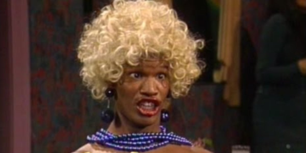 Jamie Foxx as Wanda on In Living Color