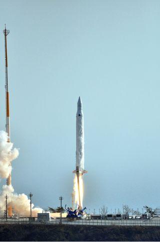Naro South Korea kslv 1 Rocket Launch