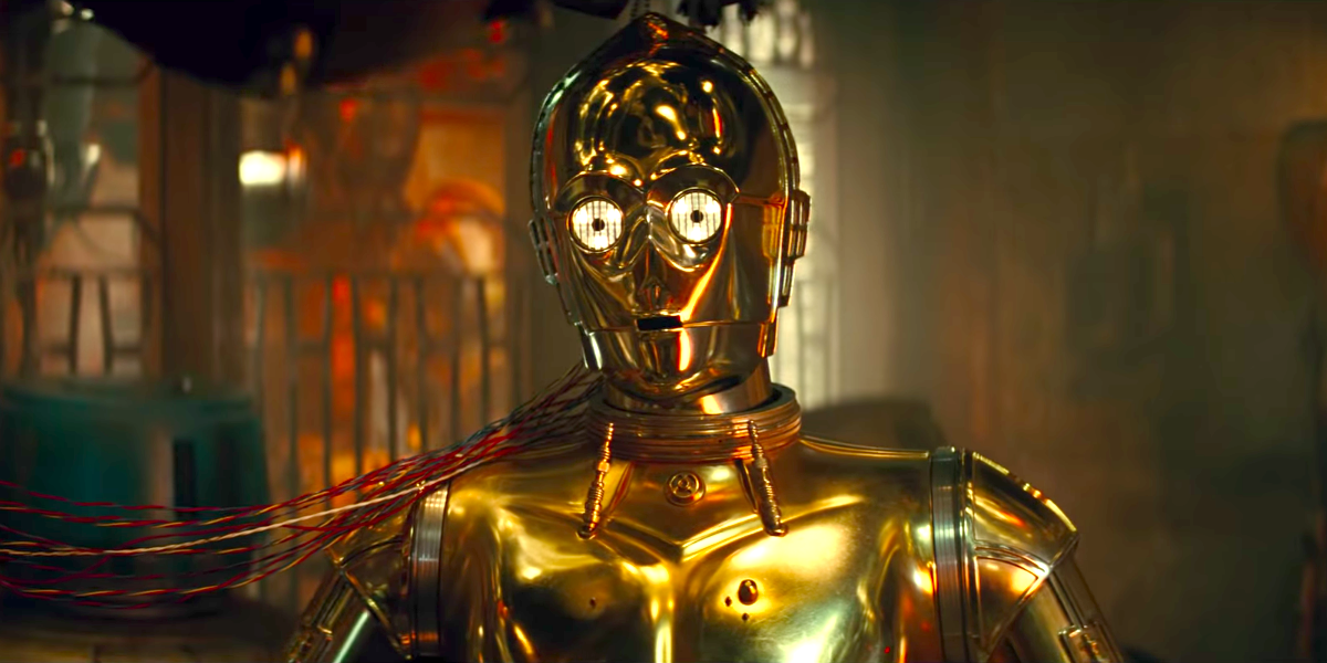 C-3PO in The Rise of Skywalker