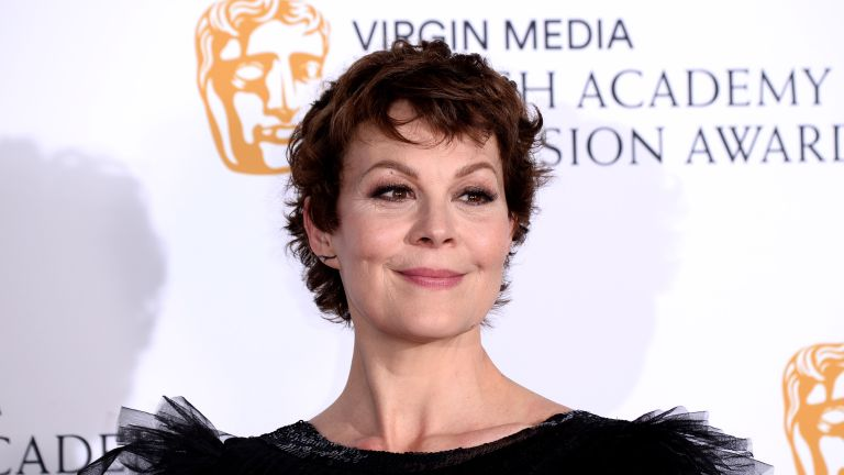 Helen McCrory poses in the Press Room at the Virgin TV BAFTA Television Award at The Royal Festival Hall on May 12, 2019 in London, England
