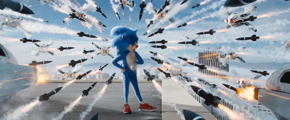 Old Sonic Full Body Shot