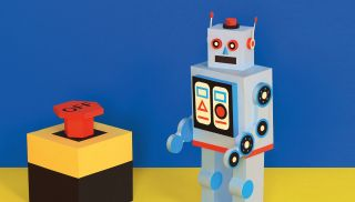 How to create a papercraft robot | Creative Bloq
