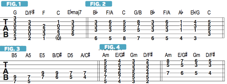 Using First-Inversion Chords to Create Smooth Bass Motion | Guitarworld