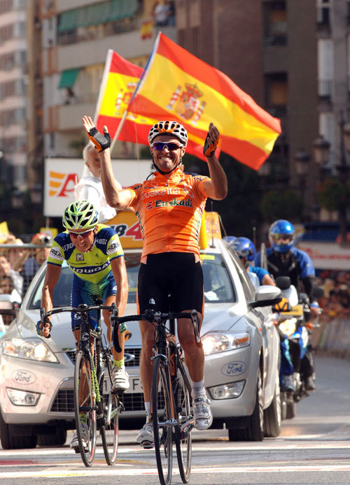 Tour of Spain 2007 Samuel Sanchez wins st15
