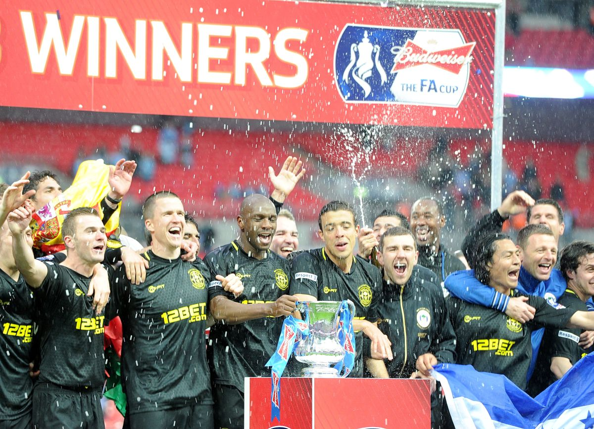On This Day on 2013: Wigan stun Manchester City to win FA Cup final at Wembley