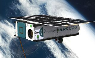 Planetary Resources' Arkyd-6 spacecraft art