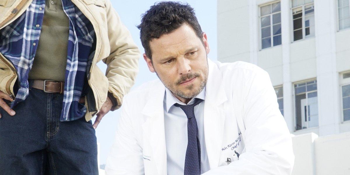Justin Chambers as Alex Karev in Grey's Anatomy Season 16 ABC