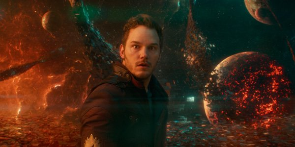 Star-Lord Chris Pratt Guardians Of The Galaxy