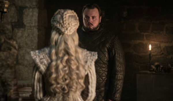Game of Thrones Emilia Clarke Daenerys Targaryen Samwell Tarly John Bradley HBO
