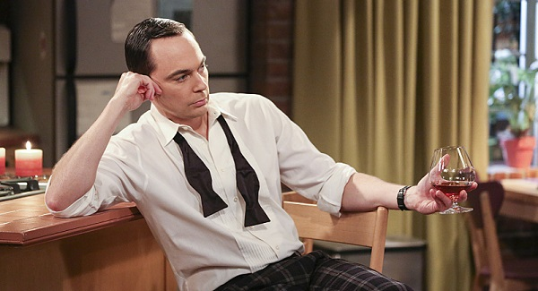 sheldon big bang theory drinking