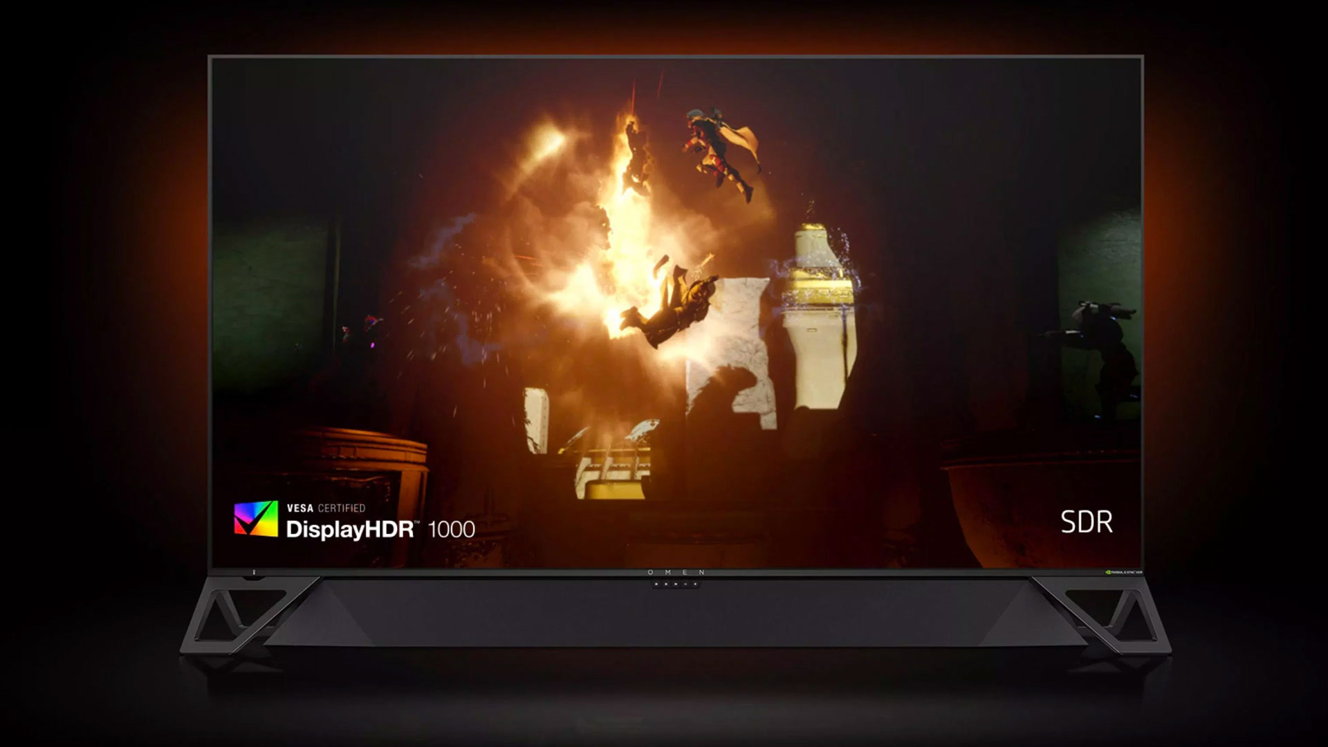 Your next TV could be the giant HP Omen X Emperium PC gaming monitor