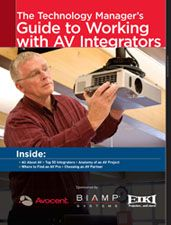 The Technology Manager's Guide to Working with AV Integrators