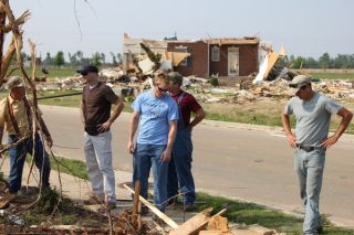 Rocket City Rednecks tornado damage