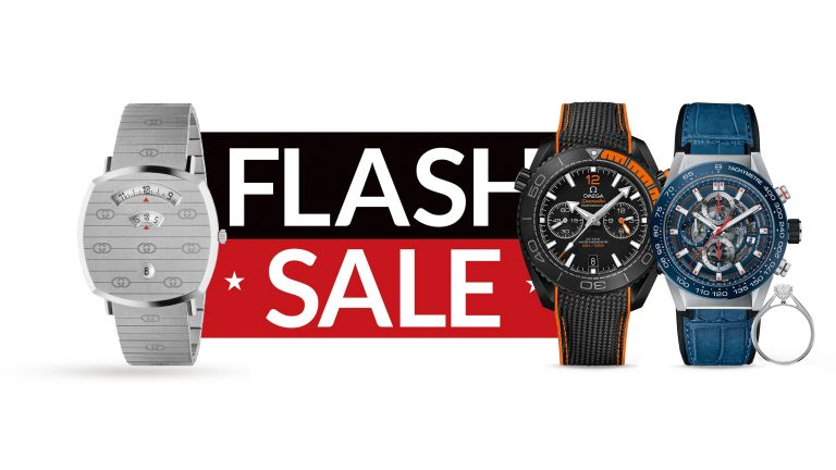 Save up to 50% on TAG Heuer, Omega, Breitling and more in the Goldsmith's sale!