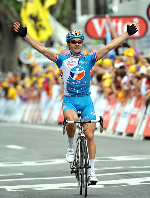 Thomas Voeckler, Tour de France 2009, stage 5