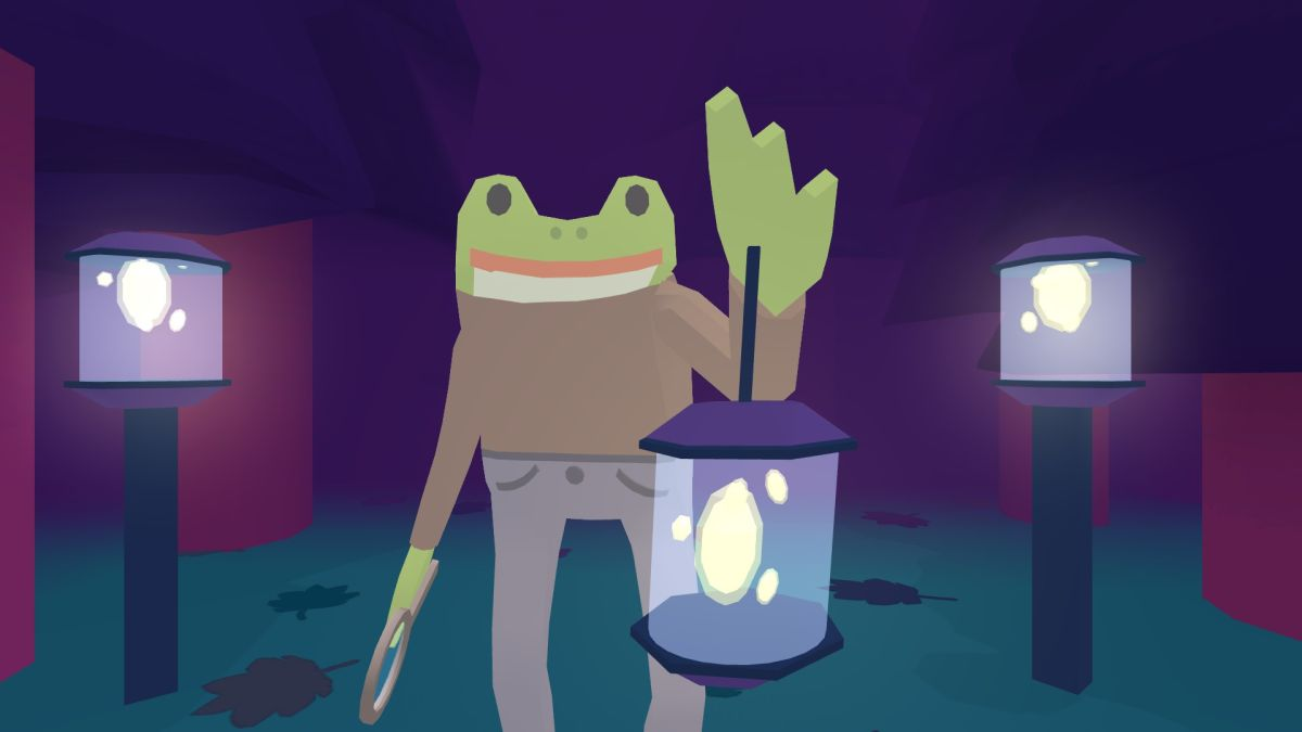 Uncover the mysterious party-pooper in Frog Detective 2: The Case of the Invisible Wizard