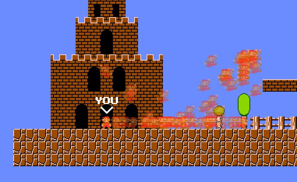 Super Mario Bros is now a battle royale