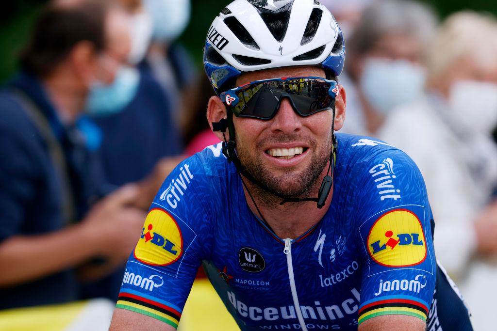 Mark Cavendish at the 2021 Tour de France